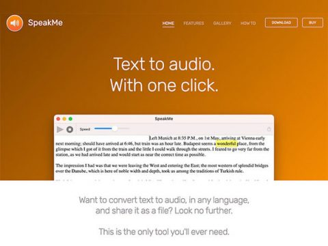 SpeakMe: Text to Audio Transcription for Mac