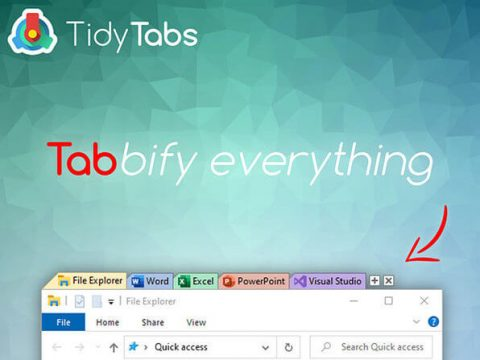TidyTabs Windows Manager Professional Lifetime License