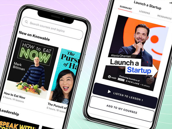 $59.99 Knowable Audio Learning Platform Lifetime Subscription
